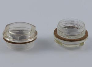 Olejowskazy oczkowe sześciokątne z tworzywa sztucznego